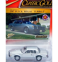 Johnny Lightning Classic Gold - 1987 Buick Regal Turbo Type