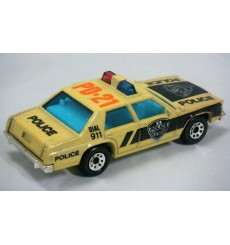 Matchbox Color Changers - Ford LTD Police Car