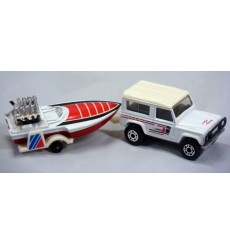 Matchbox Twinpacks - Land Rover 90 and Seafire Powerboat
