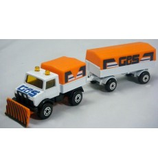 Matchbox Twinpacks - Mercedes-Benz Unimog and Trailer