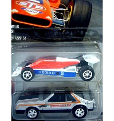 Johnny Lightning Indianapolis 500 Champions Set - 1979 Ford Mustang Pace Car and Rick Mears Indy Car