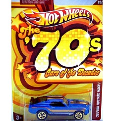 Hot Wheels Cars of the Decades - 1970 Ford Mustang Mach 1