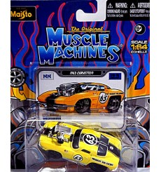 Maisto - The Original Muscle Machines Series - 1963 Chevy Corvette Split Window Coupe