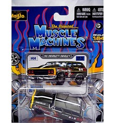 Maisto - The Original Muscle Machines Series - 1965 Chevy Chevelle Station Wagon