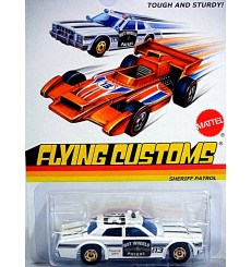 Hot Wheels Flying Customs - Sheriff Patrol Police Car
