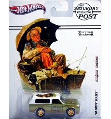 Hot Wheels Nostalgia Series - Saturday Evening Post - Norman Rockwell Gone Fishin' 1970 Chevy Blazer