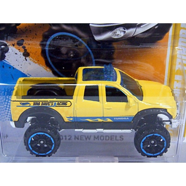 hot wheels 2012 new models series toyota tundra pickup truck. Black Bedroom Furniture Sets. Home Design Ideas