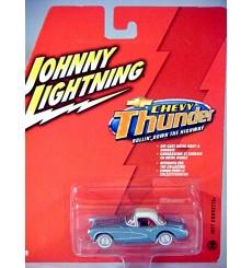 Johnny Lightning Chevy Thunder - 1957 Chevrolet Corvette with Top