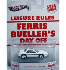 Hot Wheels Nostalgia - Pop Culture - Ferris Bueller Pontiac Fiero