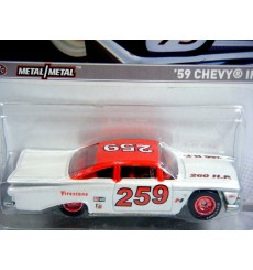 Hot Wheels Racing 2012 Stock Car Series - 1959 Chevrolet Impala NASCAR Stock Car