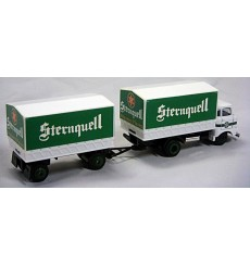 Sternquell Beer Promotional Delivery Truck and Trailer