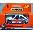 Matchbox Ford Escort Union Jack