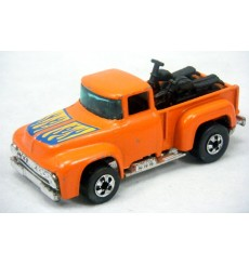Hot Wheels - 56 Hi Tailer - Ford Pickup Truck & Motorcycles