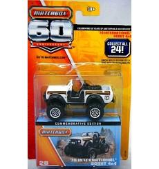 Matchbox 60th Anniversary Series - 1978 International Scout 4x4