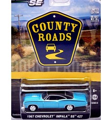 Greenlight - County Roads Series - 1967 Chevrolet Impala SS 427