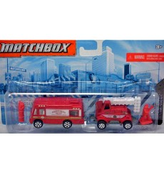 Matchbox Hitch and Haul Sets - Fire Department Wildfire Vehicle Set