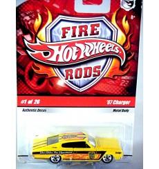 Hot Wheels Fire Rods 1967 Dodge Charger MOPAR