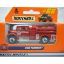 Matchbox International Fire Pumper  - Euro Release