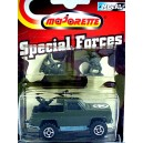 Majorette - Special Forces Series - Chevy Blazer Machine Gun Truck