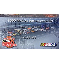 Racing Champions: 1999 Introduction NASCAR Set - Chrome Cars