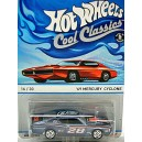 Hot Wheels Cool Classics - 1969 Mercury Cyclone GT