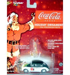 Johnny Lightning 1966 Volkswagen Beetle Coca Cola Christmas