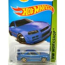 Hot Wheels Nissan Skyline GT-R R34 - Paul Walker