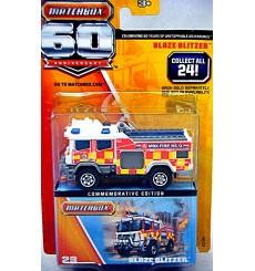 Matchbox 60th Anniversary series - Blaze Blitzer Fire Truck