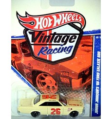 Hot Wheels Vintage Racing - Junior Johnson 1965 Ford Galaxie 500 NASCAR Stock Car