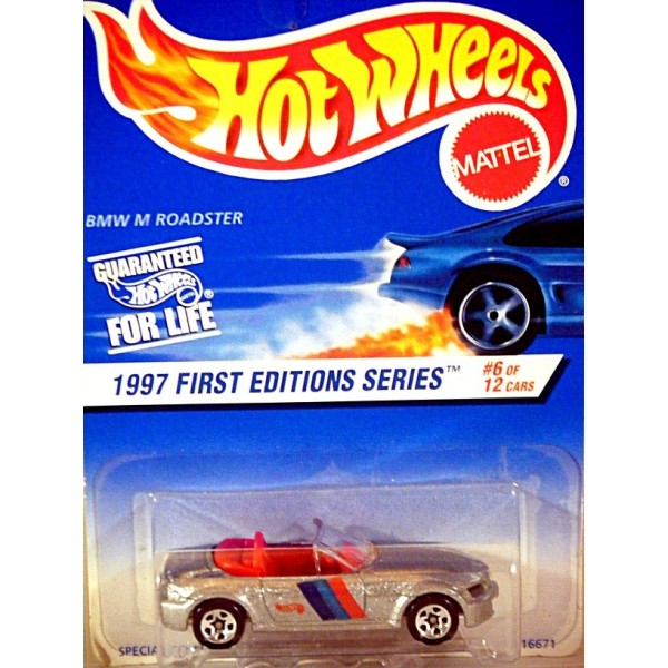 Bmw Z3 M Wheels: Hot Wheels 1997 First Edition Series