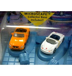 Hot Wheels - Planet Micro Sports Car Set - Ferrari, Porsche Jaguar Mercedes BMW