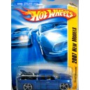 Hot Wheels 2007 New Models - Chevy Silverado with Motorcycle
