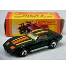 Matchbox (MB62D-10) - Chevrolet C3 Corvette Coupe