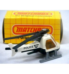 Matchbox Police Helicopter