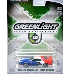 Greenlight Road Racers - 1oth Anniv. Mark Donahue1971 AMC AMX Javelin