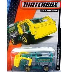 Matchbox - Garbage Gulper - Front Load Recycler