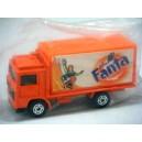 Matchbox Rare Chinese market Fanta Soda Promo Volvo Container Truck