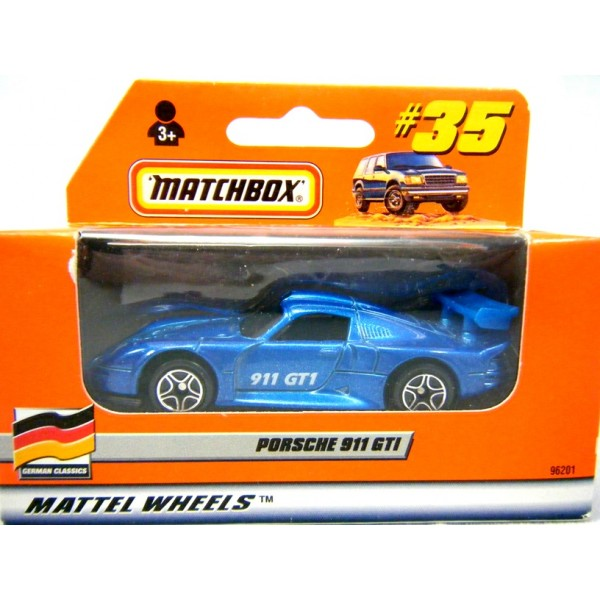 matchbox porsche 911 gt1 global diecast direct. Black Bedroom Furniture Sets. Home Design Ideas