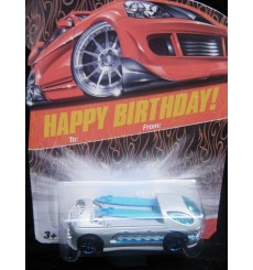 Hot Wheels Happy Birthday Card - Deora II Surf Pickup Truck