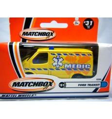 Matchbox Australia Ford Transit EMT Medic Ambulance