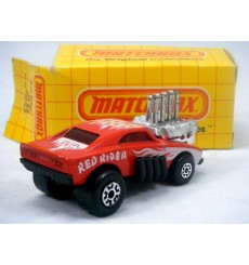 Matchbox - Red Rider Dodge Charger