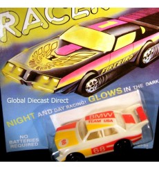 Matchbox Glo Racers - Team USA BMW Race Car