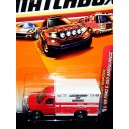 Matchbox: Ford E-350 EMT Rescue Ambulance