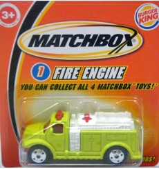 Matchbox Promo - Fire Truck