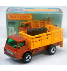 Matchbox - Dodge Cattle Truck