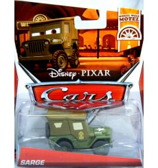 Disney Cars - Sarge Military Jeep