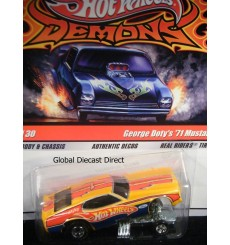 Hot Wheels Dragstrip Demons George Doty's NHRA 71 Ford Mustang Funny Car
