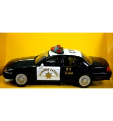 Maisto Road & Track: Ford Crown Victoria Highway Patrol K-9 Police Car