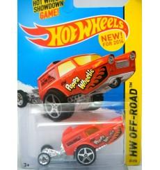 Hot Wheels - Ford Thames Panel - Poppa Wheelie Dragster