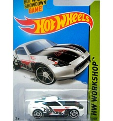 Hot Wheels Nissan 370Z Sports Car - FTE Wheels